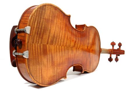 Violin on side